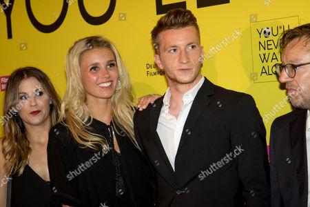 Marco Reus (BVB) and Scarlett Gartmann