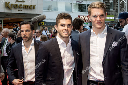 Gonzalo Castro (BVB), Christian Pulisic (BVB), Matthias Ginter (BVB