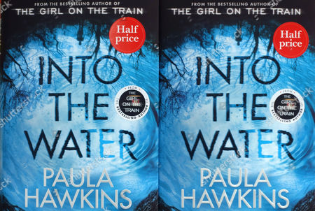 Into The Water by Paula Hawkins, author of bestselling The The On The Train, in London bookshiop window