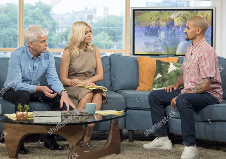 Phillip Schofield, Holly Willoughby, Alex Nickell