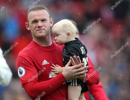 Uniteds Wayne Rooney HOLDS YOUNGEST SON Kit Rooney Uniteds Wayne Rooney HOLDS YOUNGEST SON Kit Rooney