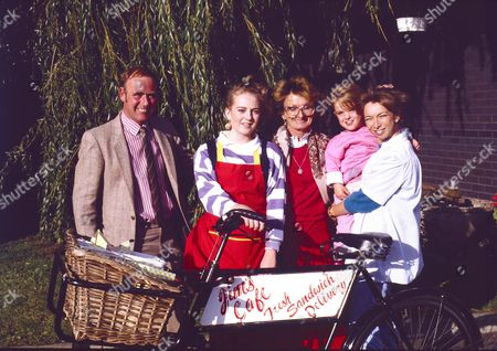 """Editorial picture of """"Coronation Street"""" TV series  - 1988"""