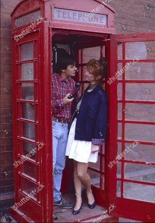 Nigel Pivaro (as Terry Duckworth) and Daryl Fishwick (as Mandy Turner)