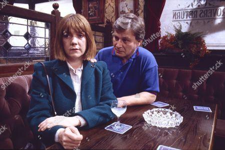 Sally Watts (as Sandra Stubbs) and Eamon Boland (as Ronnie Stubbs)