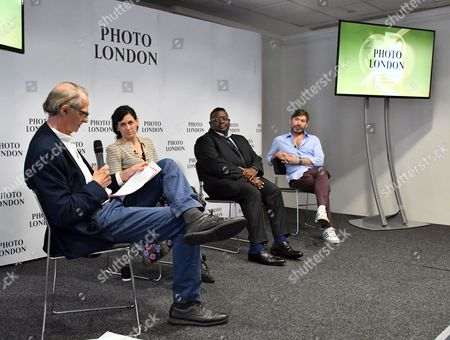 Bill Ewing, Taryn Simon, Isaac Julien, Mat Collishaw at Photo London press conference