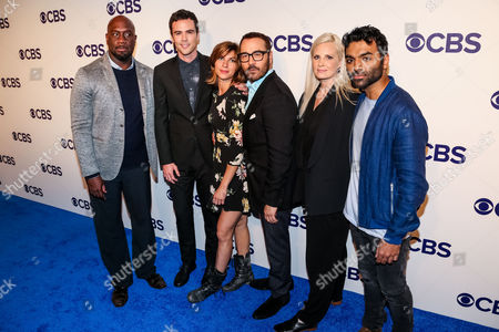 Editorial image of CBS Upfront Presentation, Arrivals, New York, USA - 17 May 2017