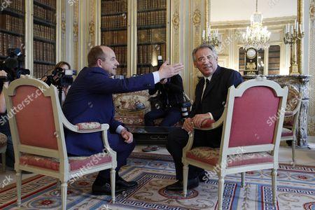 Jean-Jacques Urvoas and Francois Bayrou