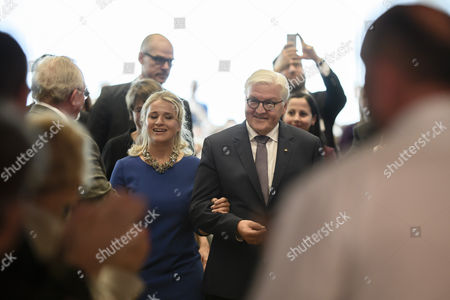 Frank-Walter Steinmeier and Verena Bentele