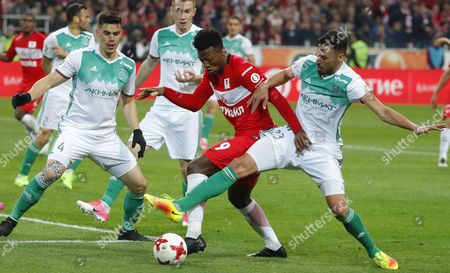 Editorial photo of FC Spartak Moscow vs Terek Grozny, Russian Federation - 18 May 2017