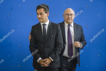 Gerald Darmanin and Michel Sapin