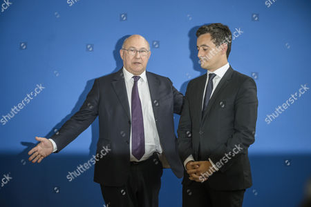 Editorial image of French Finances Ministry handover ceremony, Paris, France - 17 May 2017