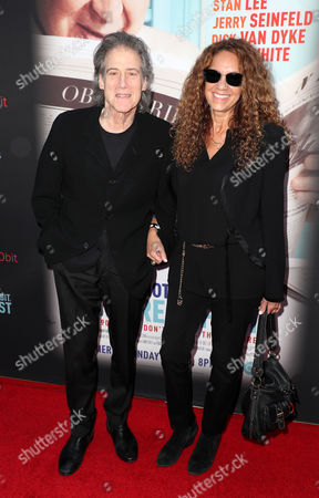 Stock Picture of Richard Lewis and Joyce Lapinsky