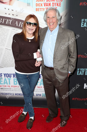 Henry Winkler and Stacey Weitzman