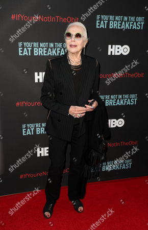 Editorial image of 'If You're Not In The Obit, Eat Breakfast' film screening, Arrivals, Los Angeles, USA - 17 May 2017