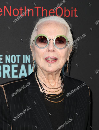 Editorial photo of 'If You're Not In The Obit, Eat Breakfast' film screening, Arrivals, Los Angeles, USA - 17 May 2017