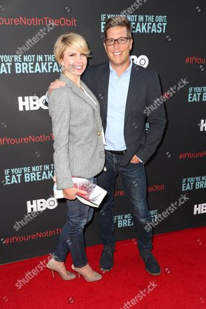 Stock Picture of Spike Feresten and Erika Feresten