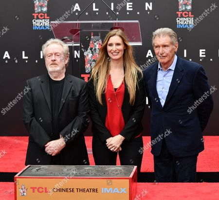 Editorial picture of Ridley Scott hand and footprint ceremony, Los Angeles, USA - 17 May 2017