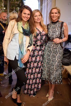 Olivia Cole, Kate Bryan and Tia Graham