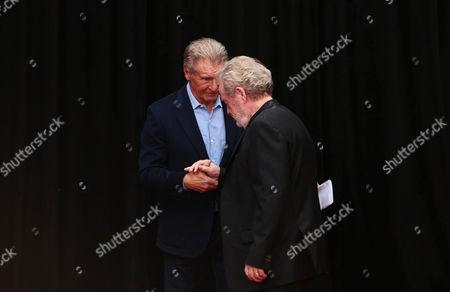 Ridley Scott, Harrison Ford