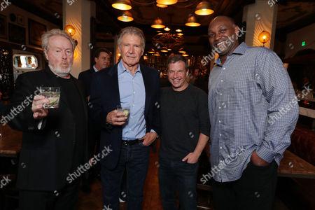 Ridley Scott, Harrison Ford, Andrew A. Kosove, Broderick Johnson