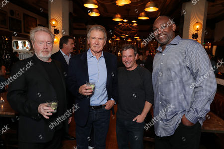 Stock Picture of Ridley Scott, Harrison Ford, Andrew A. Kosove, Broderick Johnson