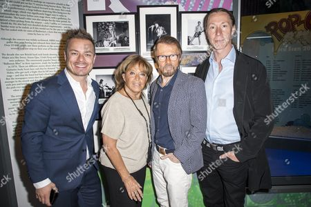 "Barbro Svensson, Björn Ulvaeus, Martin ""E-Type"" Erikson"