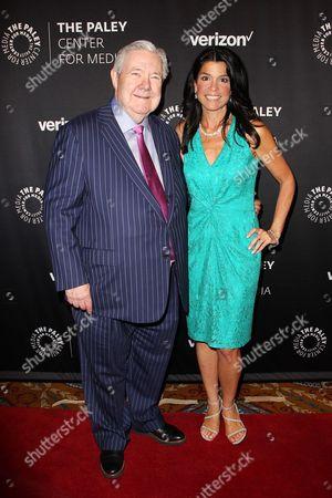 Frank A Bennack Jr and Maureen J. Reidy (CEO; Paley Center for Media)
