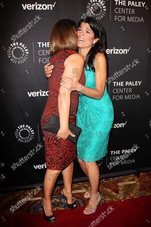 Maria Elena Salinas and Maureen J. Reidy (CEO; Paley Center for Media)