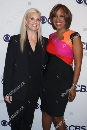 Monica Potter and Gayle King