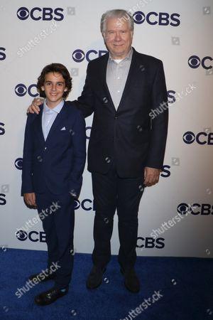 Jack Dylan Grazer and John Larroquette
