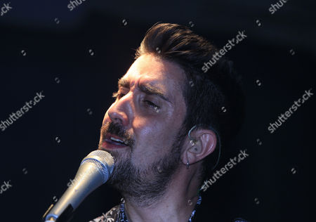 Editorial image of Spanish singer Alex Ubago in Mexico City - 17 May 2017