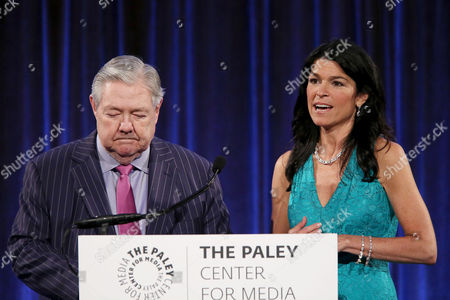 Frank A Bennack Jr and Maureen J. Reidy (CEO; Paley Center for Media)