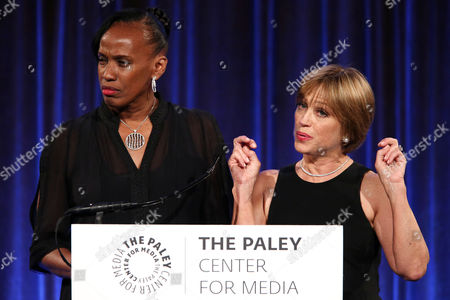 Editorial image of The Paley Center Honors Celebrating Women in Television Presented by Verizon - Podium, New York, USA - 17 May 2017