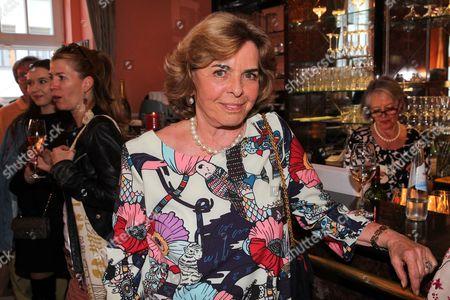 Stock Photo of Christa Clarin Graefin von Hardenberg,
