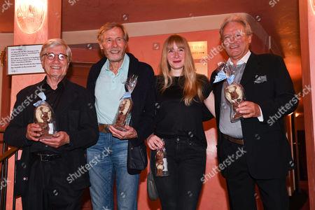 Christian Wolff, Horst Janson, Sarah Jane Janson and Hans-Juergen Baeumler,