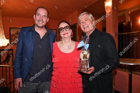 Christian Wolff mit Ehefrau Marina and Sohn Patrick,