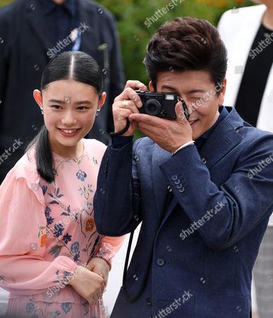 Hana Sugisaki and Takuya Kimura