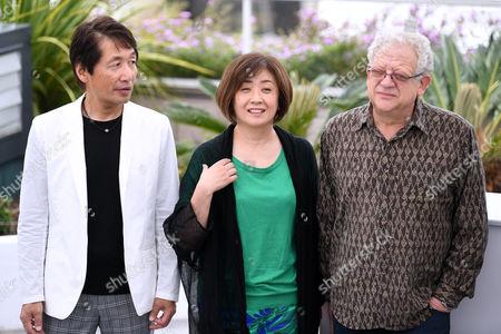 Hiroyoshi Koiwai, Misako Saka and Jeremy Thomas