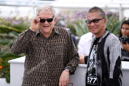 Jeremy Thomas and Takashi Miike