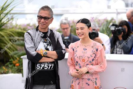 Takashi Miike and Hana Sugisaki