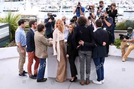 Thibault Carterot, Fabien Gaffez, Patrick Blossier, Sandrine Kiberlain, Elodie Bouchez, Guillaume Brac and Michel Merkt