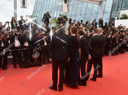 Editorial picture of 'Loveless' premiere, 70th Cannes Film Festival, France - 18 May 2017