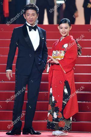 Takuya Kimura and Hana Sugisaki