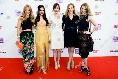 Susan Sideropoulos,Sila Sahin, Maike von Bremen, Kristin Meyer and Natalie Alison