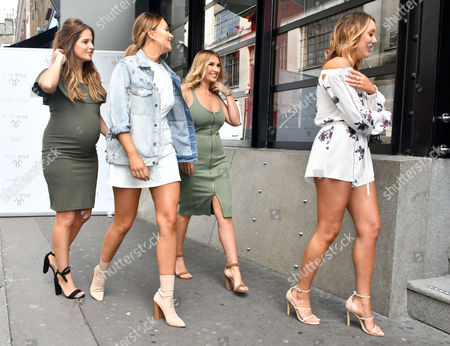 Stock Picture of Binky Felstead, Sarah Ashcroft, Billie Faiers, Charlotte Crosby