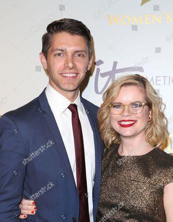 Stock Picture of Ryan Devlin, Kara Holden