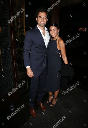 Stock Picture of Adrian Bellani, Emmanuelle Chriqui