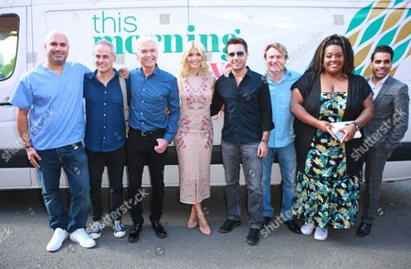 Phillip Schofield, Holly Willoughby, Alison Hammond, Gino D'Acampo, Phil Vickery, Trinny Woodall and David Domoney