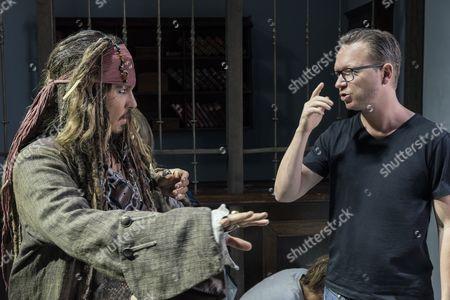 Stock Photo of Johnny Depp, Espen Sandberg