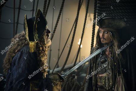 Geoffrey Rush, Johnny Depp